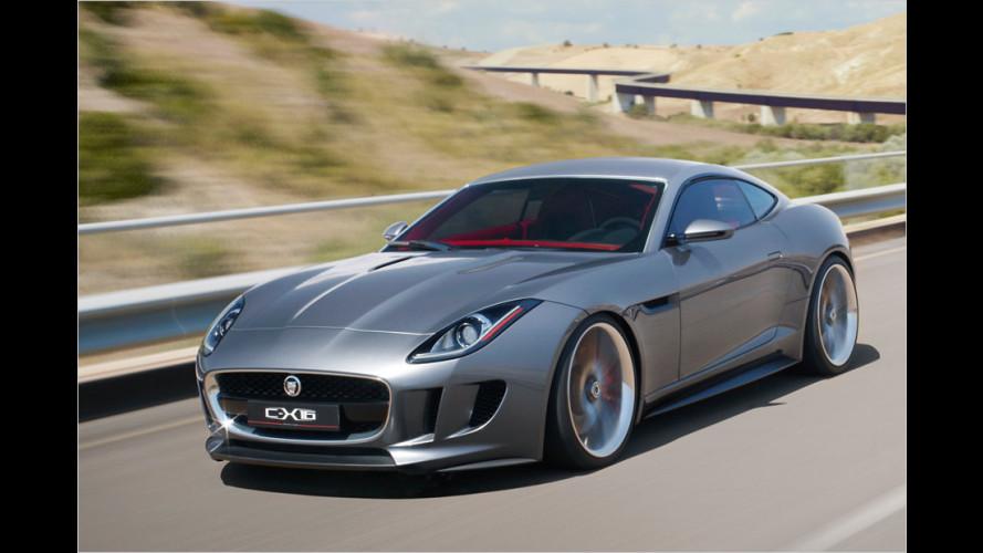 Jaguar C-X16: Der Enkel des E-Type