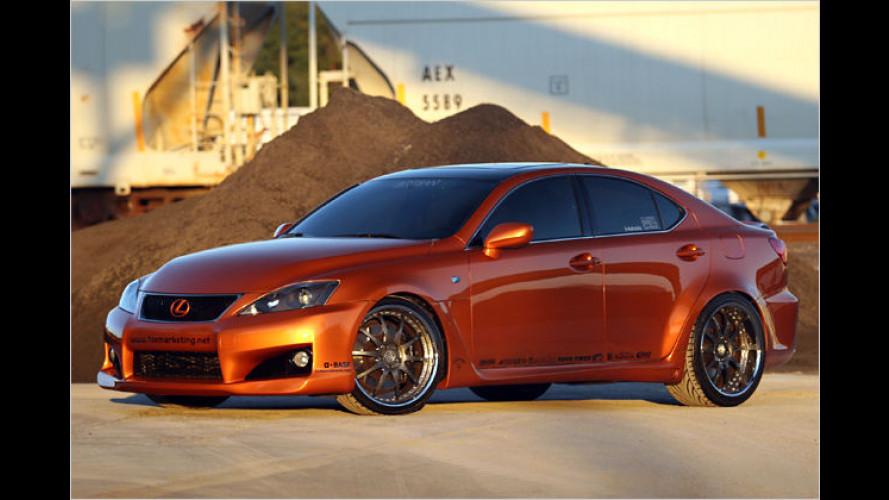Lexus präsentiert auf der SEMA eine Reihe heißer Tuningcars