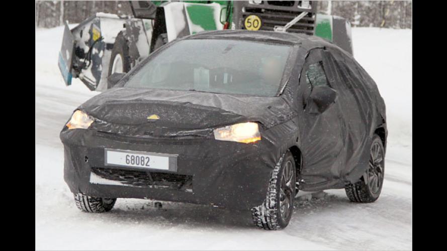 Erwischt: Neuer Citroën C4 im Tiefschnee