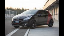 Sfida tra un guidatore normale e un pilota di rally  su Peugeot 208 GTi (30 th edition)