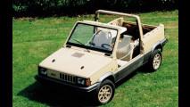 Fiat Panda 4x4 Strip, nudo integrale