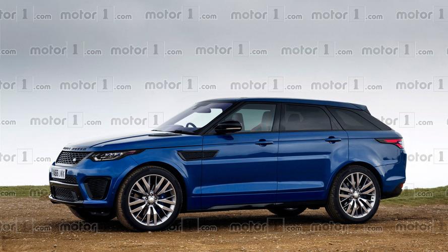 Range Rover Sport Coupe'ye tasarım çalışması geldi
