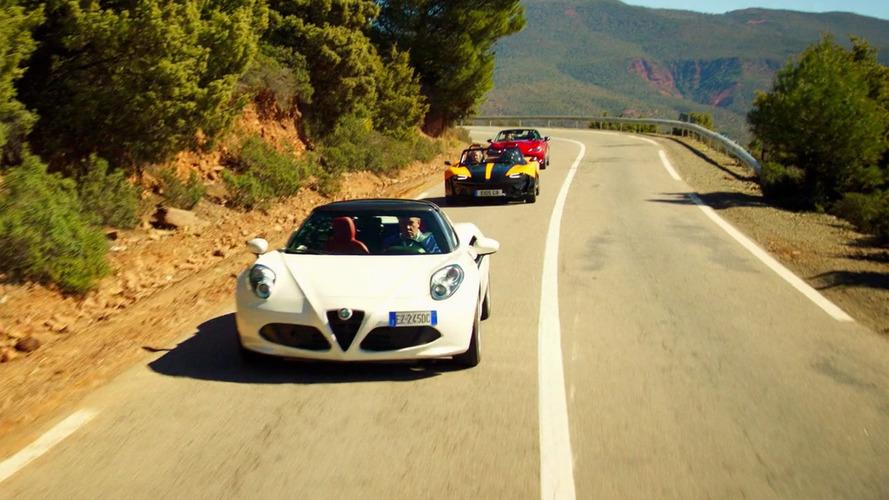Montez en Alfa Romeo 4C avec Jeremy Clarkson