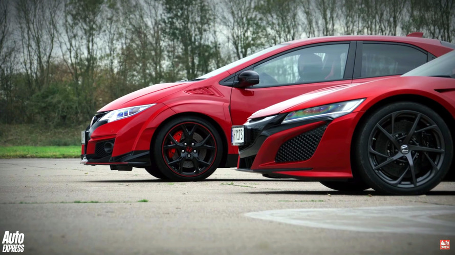 Aile içi rekabet: Civic Type R vs. NSX