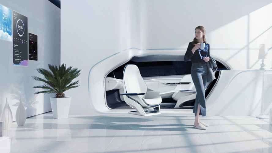 CES 2017 - Hyundai fait rentrer votre voiture dans votre maison