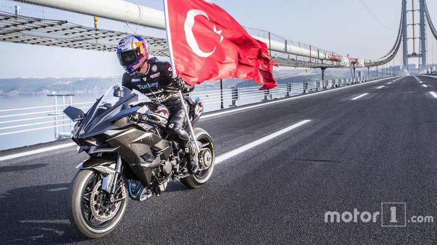 Kenan Sofuoğlu 400 km/s rekorunu kırdı!