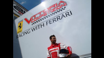Michel Fabrizio prova a Vallelunga la Ferrari F430 GT2