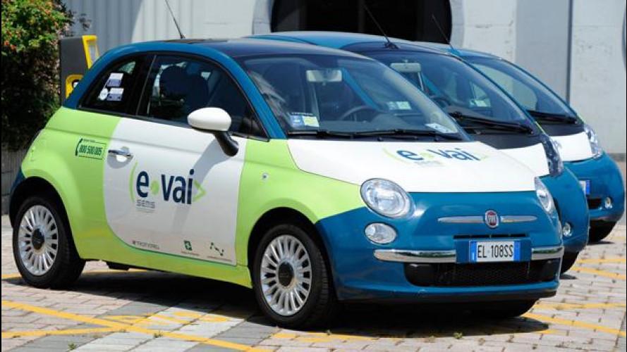 Car sharing: in Lombardia cresce e-vai