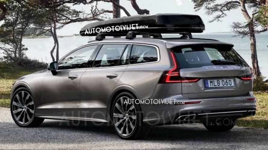 2018 Volvo V60'ın ilk resmi fotoğrafları sızdı!
