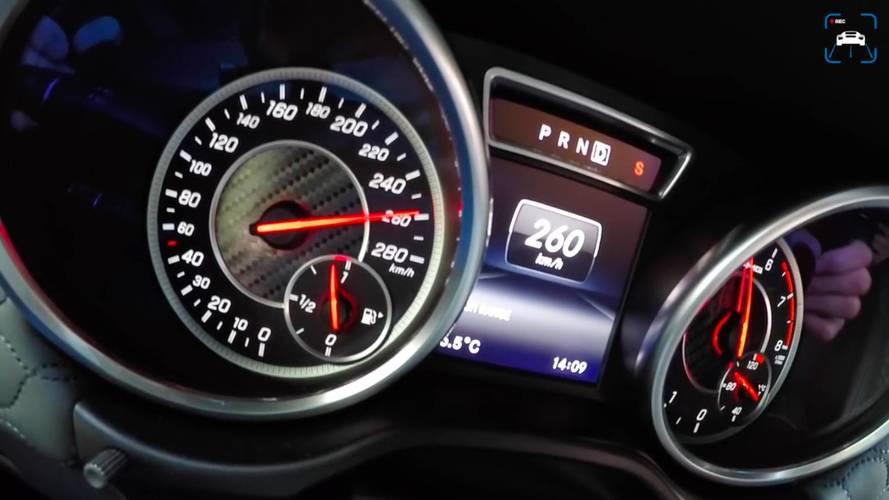 Így gyorsul 260 km/órára az 1000 lóerős Mercedes-AMG G 63
