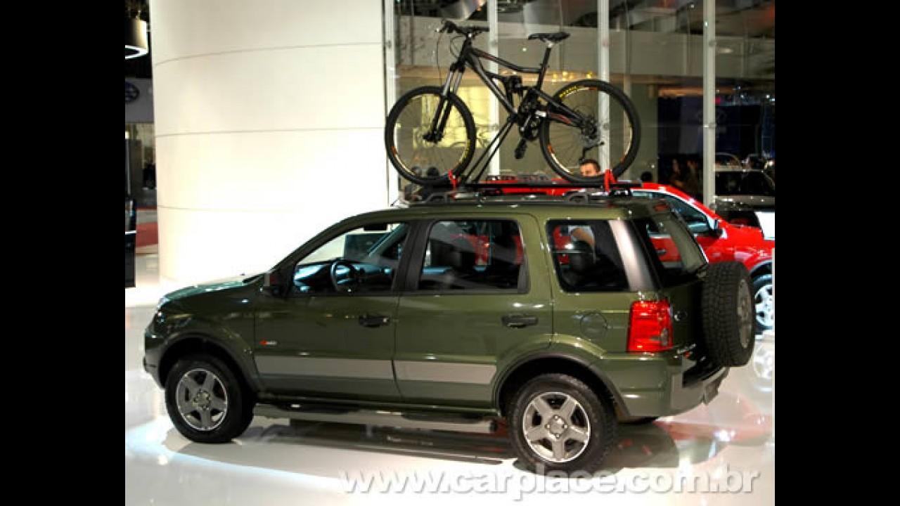Ford lança EcoSport com motor 2.0 flex - Nova motorização custa R$ 59.150