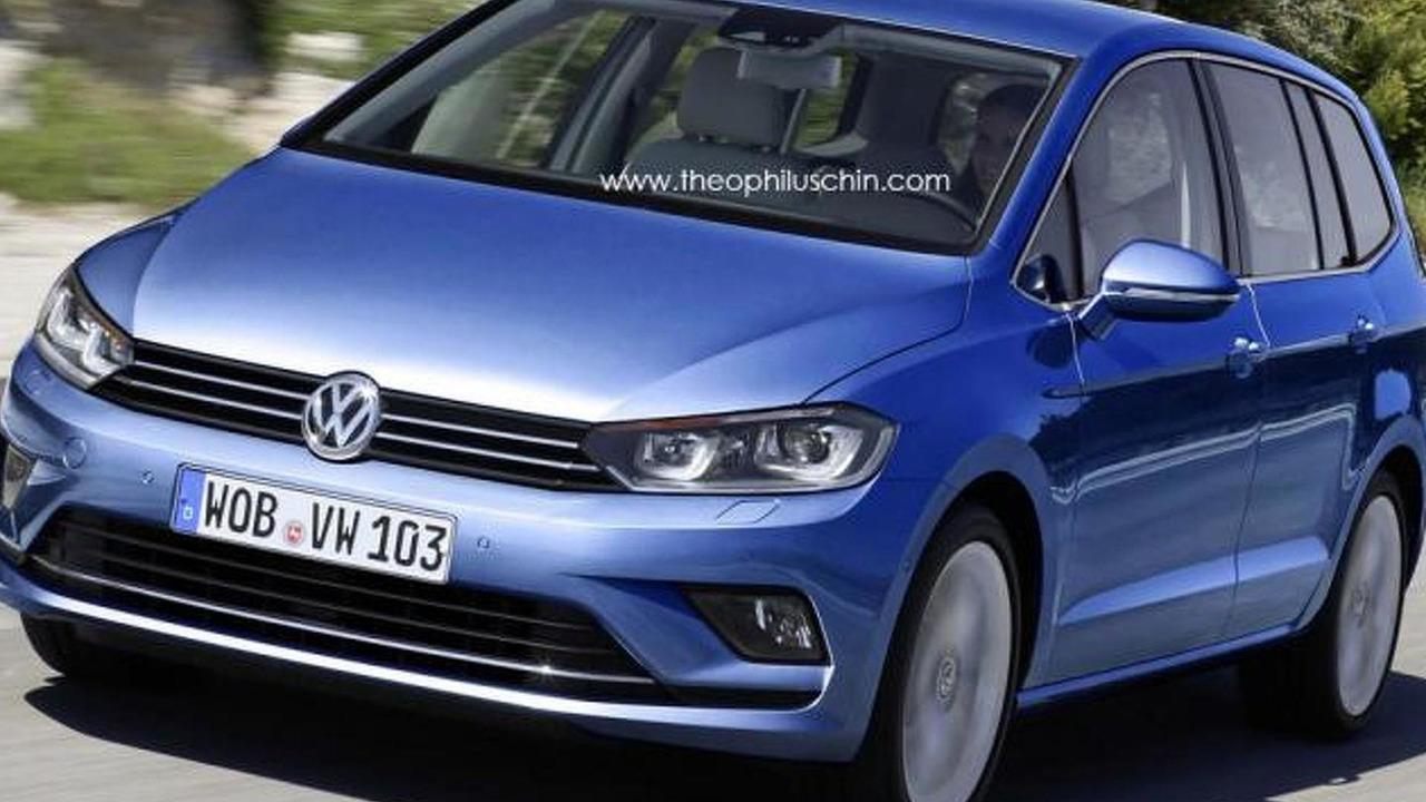 2015 Volkswagen Touran render