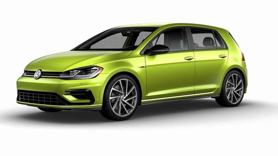 Volkswagen Golf R ganha mais de 40 opções de cores