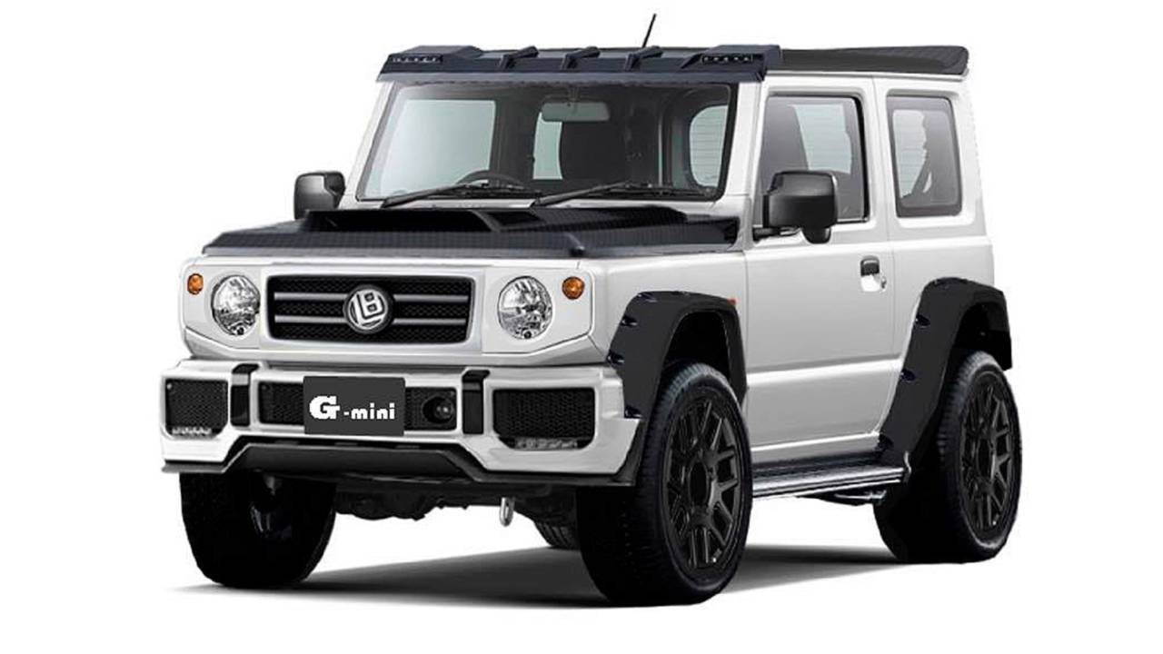 Liberty Walk Gives Suzuki Jimny A G Class Makeover