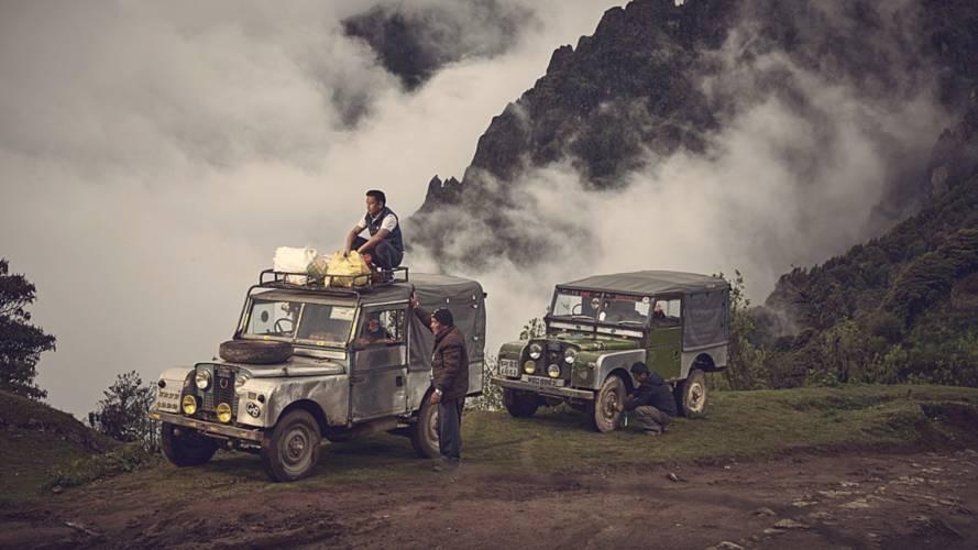 Varios Land Rover clásicos siguen demostrando su valía en el Himalaya