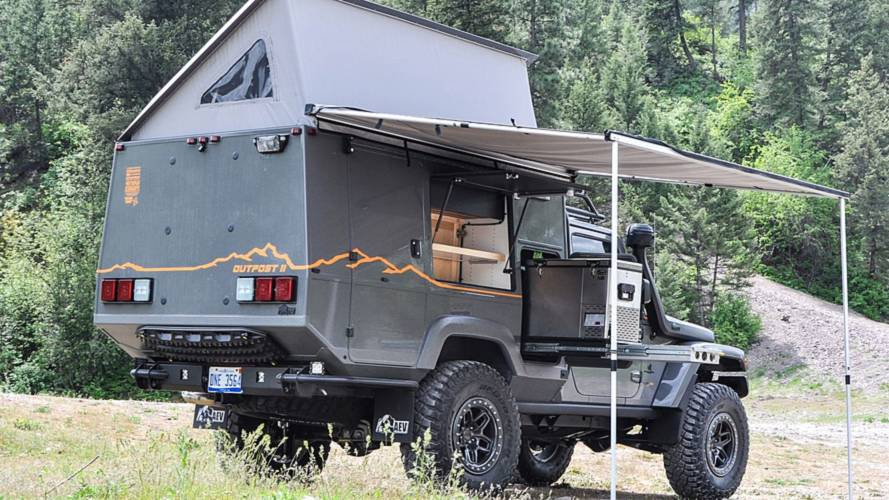 Jeep Wrangler Outpost II, transformado para llegar al fin del mundo