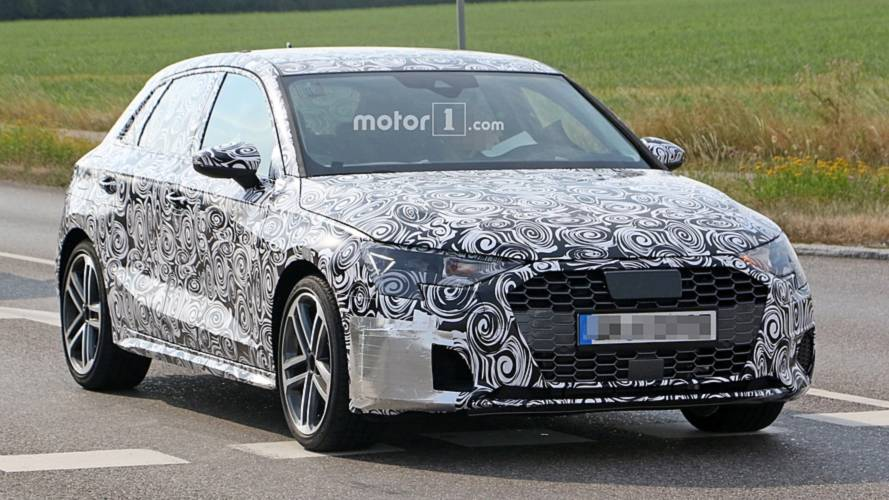 2021 Audi S3 spied for first time