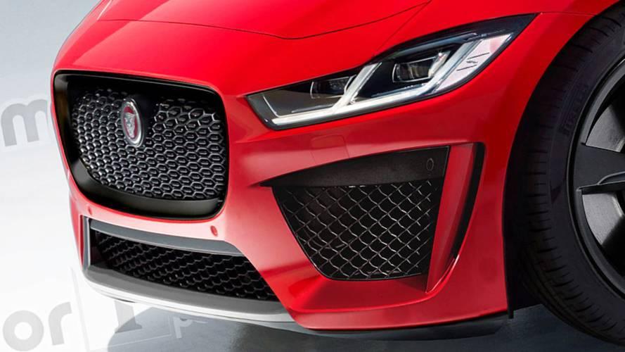Jaguar I-Pace SVR 2019, render