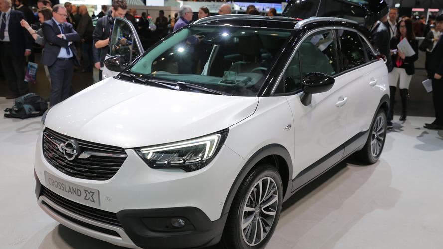 Genève 2017 - L'Opel Crossland X en cadeau de mariage avec PSA