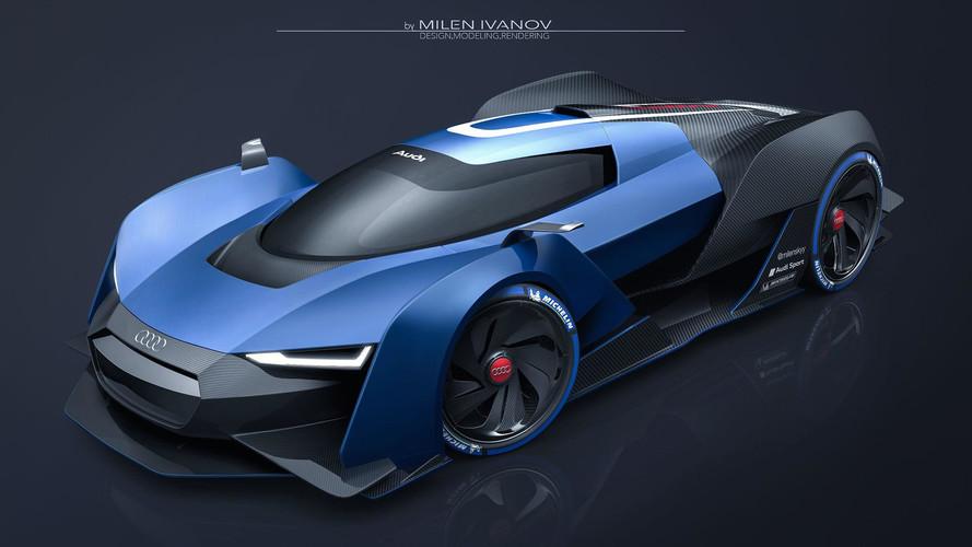 Audi RS Concept süperspor bir yarış otomobili!