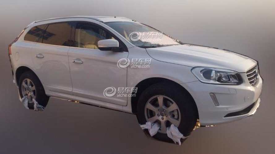 2014 Volvo XC60 spied virtually undisguised