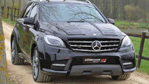 Mercedes-Benz ML 63 AMG receives wide body kit from Expression Motorsport [videos]