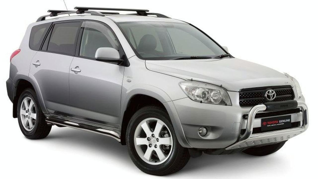 Toyota RAV4 with Toyota Genuine Accessories