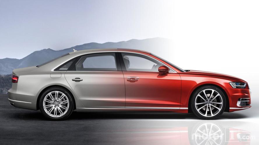 PHOTOS - La nouvelle Audi A8 face à l'ancienne !
