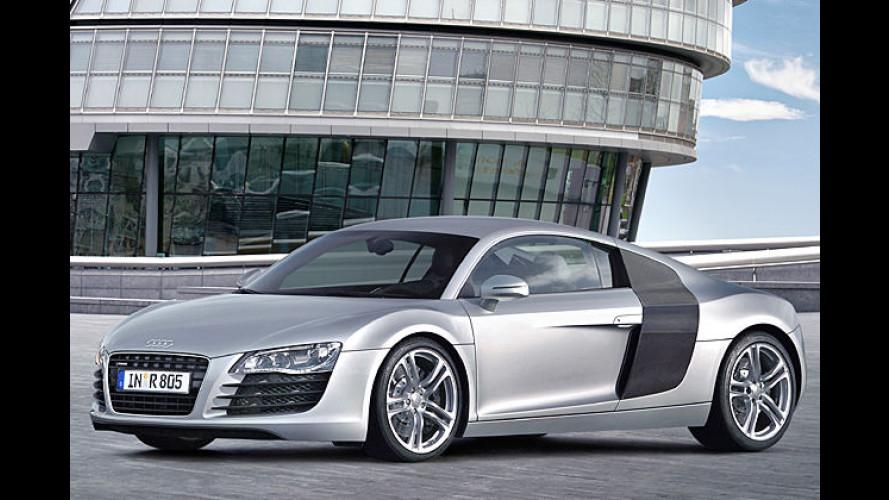 Vorglühen beim Super-Audi: LED rücken R8 ins rechte Licht