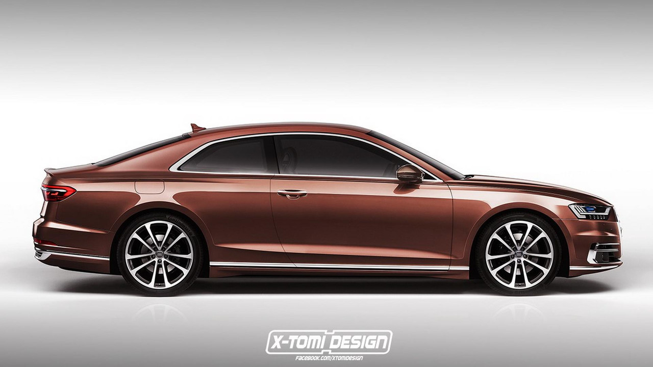 Audi A8 Coupe render