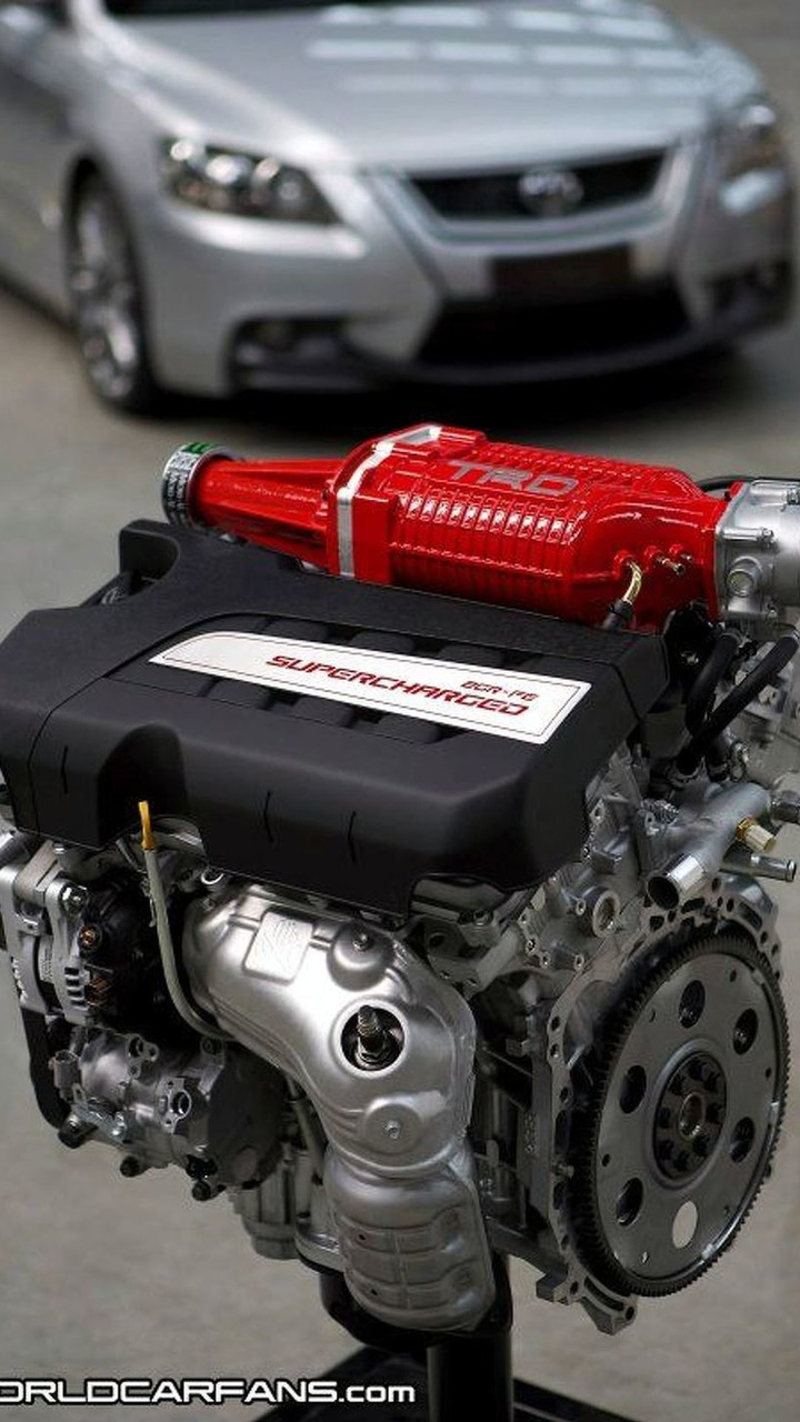 Toyota TRD Engine