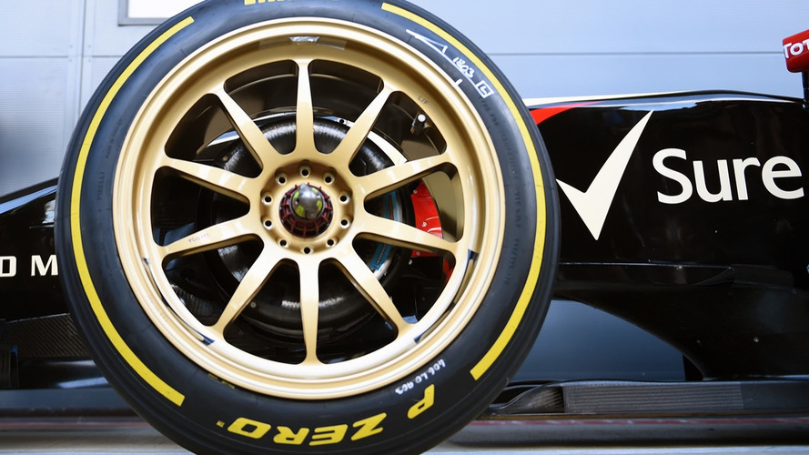 Formula 1 is pushing for bigger wheels in 2021