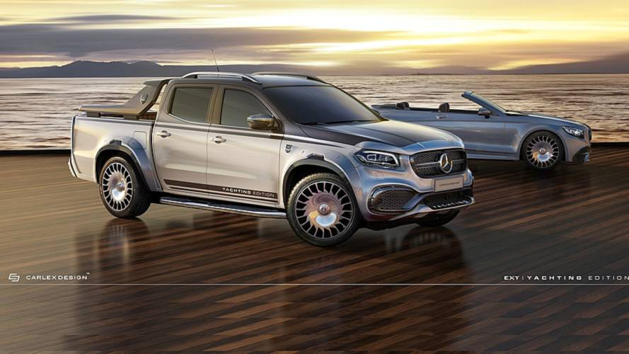 Mercedes X-Class by Carlex Design is the Maybach of pickup trucks