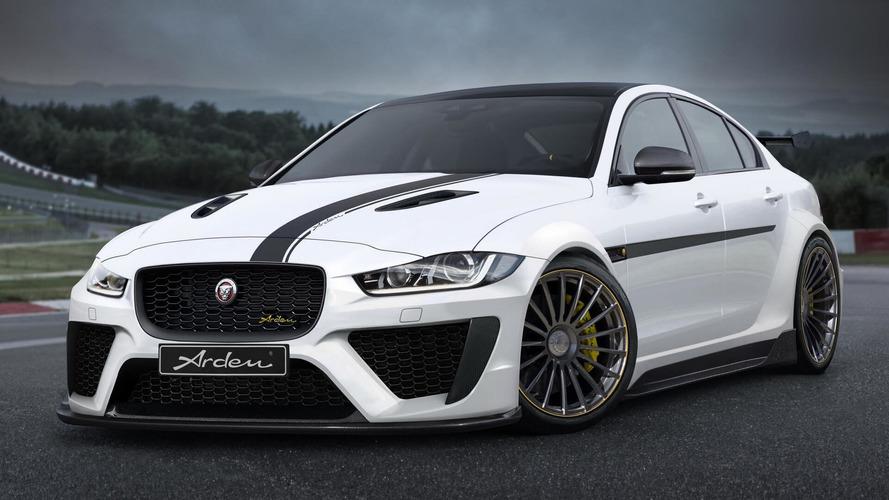 Fazlasıyla modifiye edilmiş bu Jaguar XE'ye bir göz atın