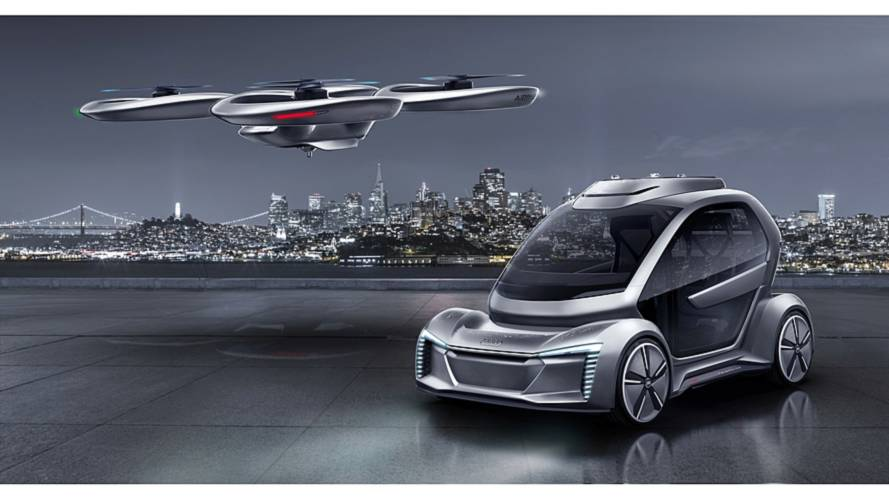 Audi and Airbus to work on air-taxi project testing in Germany