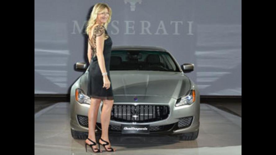 Nuova Maserati Quattroporte, serata VIP a Milano