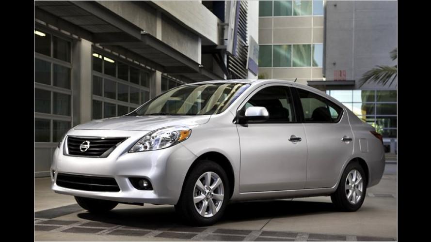 Nissan Versa Sedan: Das große kleine Auto