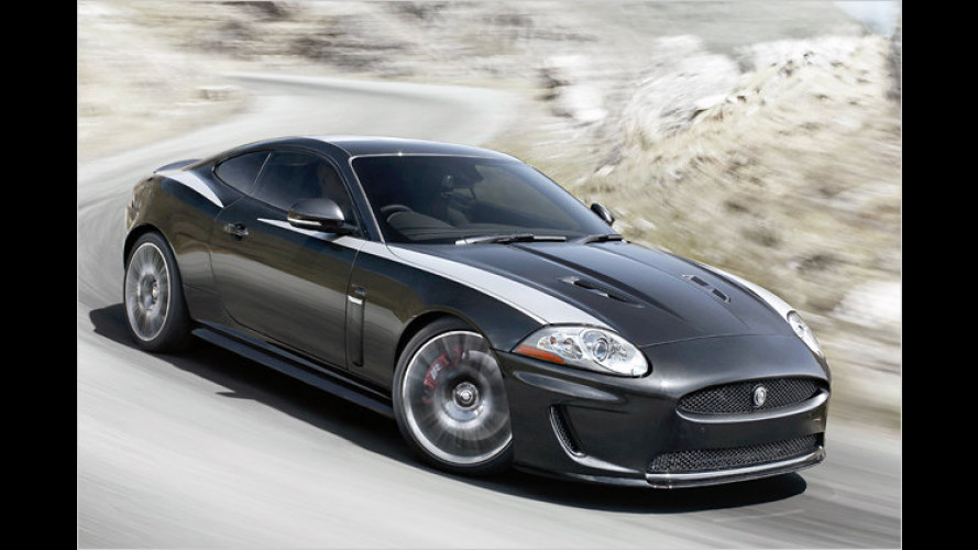 Rasantes Geschenk: Jaguar stellt den XKR 75 vor