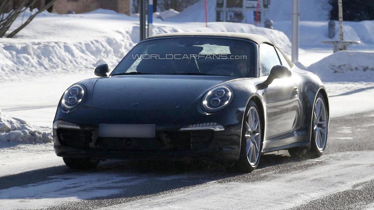 2013 Porsche 911 Targa spy photo 14.03.2013 / Automedia