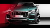 Audi Q8 teasers