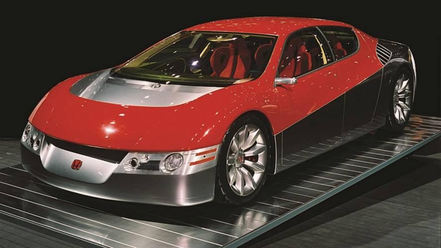 2001 Honda Dualnote Konsepti (NSX'in Atası)
