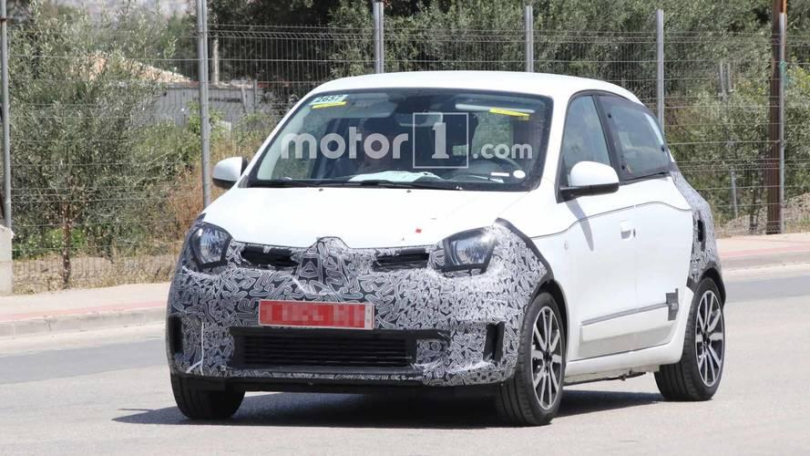 Renault, makyajlı Twingo'yu test ediyor [GÜNCEL]