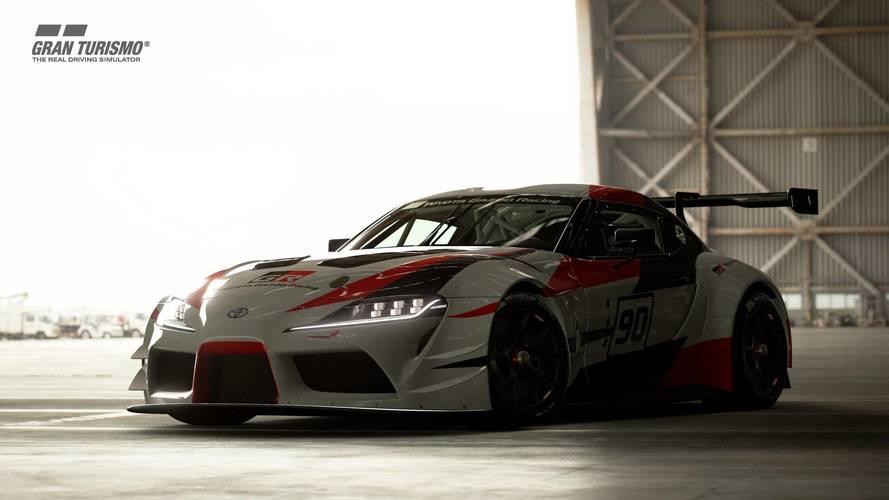 La Toyota GR Supra Racing ajoutée à Gran Turismo Sport