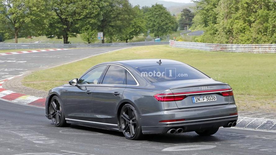 L'Audi S8 joue les gros bras sur le Ring