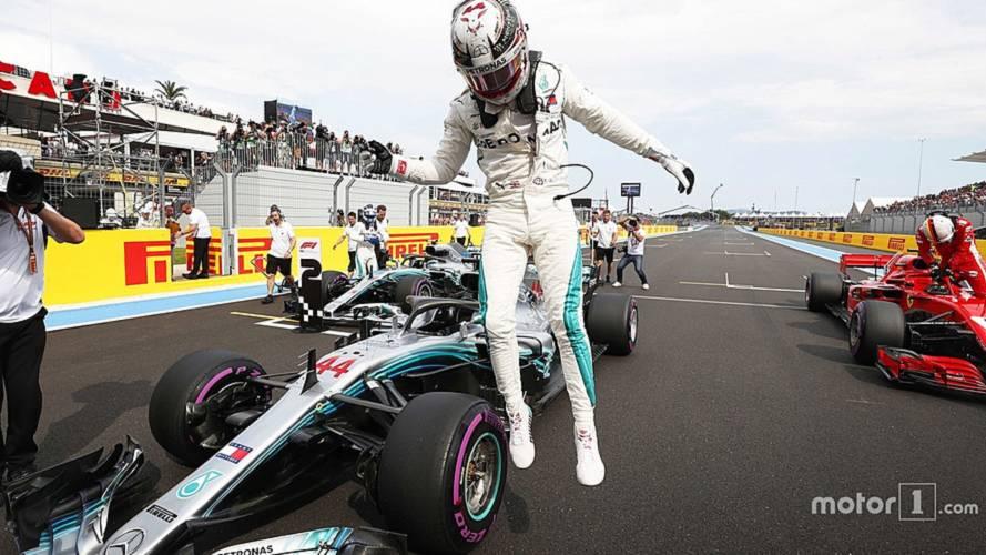 2018 F1 Fransa GP: Mercedes mücadeleyi bırakmıyor