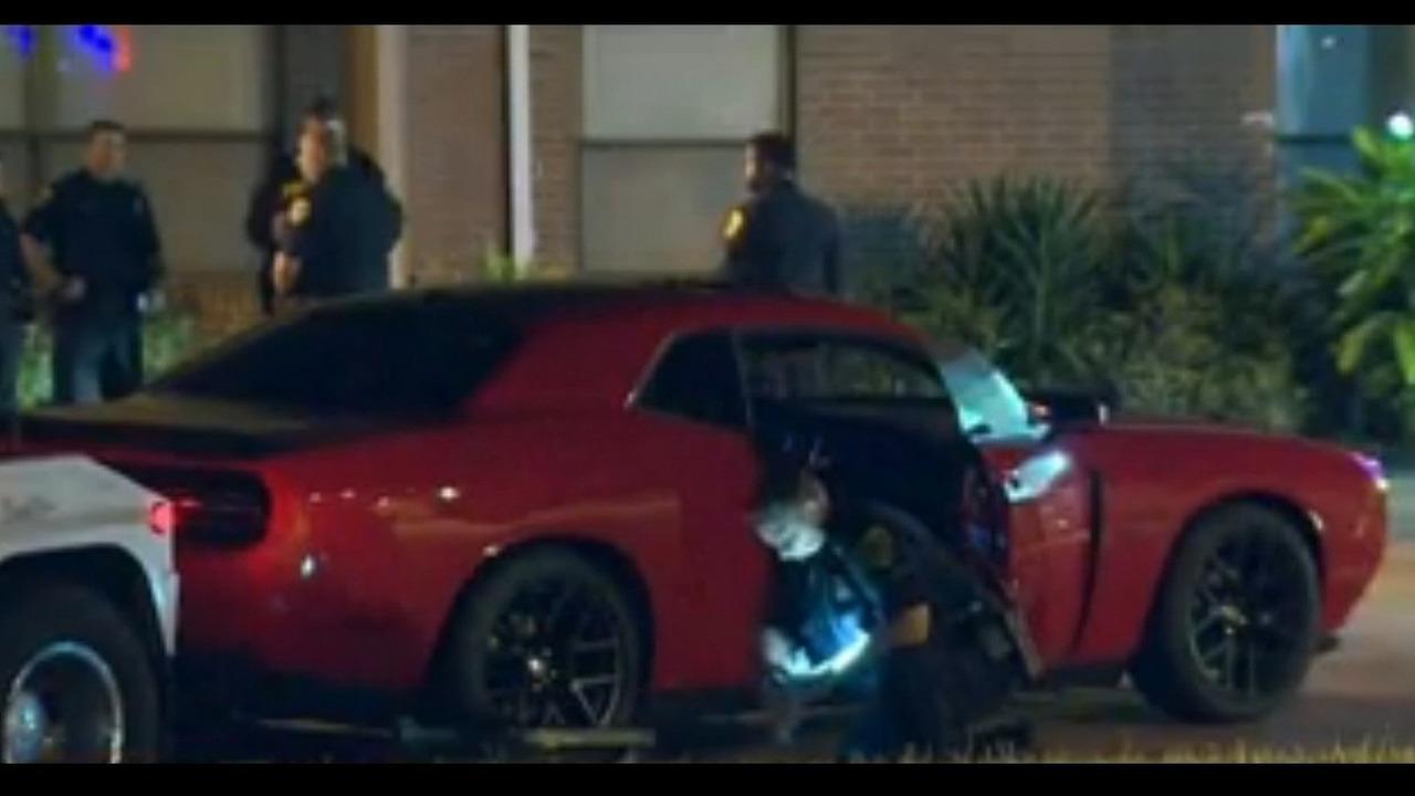 Dodge Challenger stolen during test drive