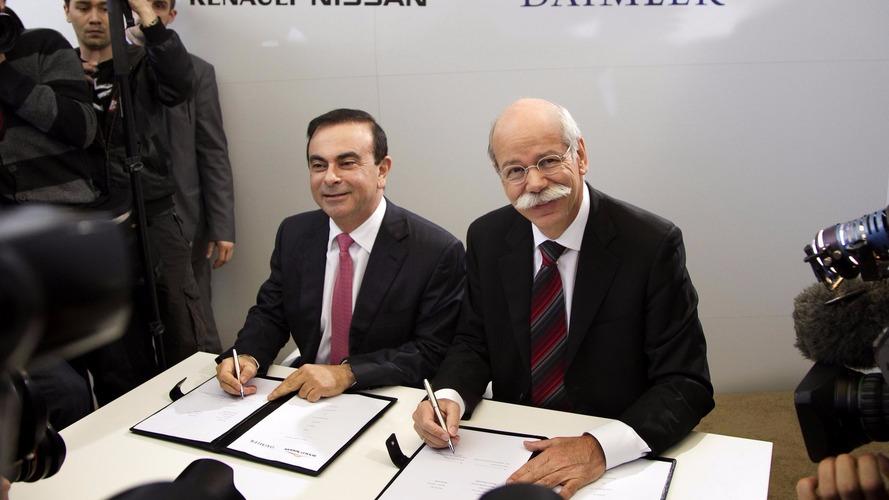 Renault-Nissan et Daimler, sept ans de collaboration au beau fixe