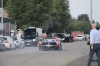 Watch a LaFerrari Owner Drive It Like He Stole it on Public Roads