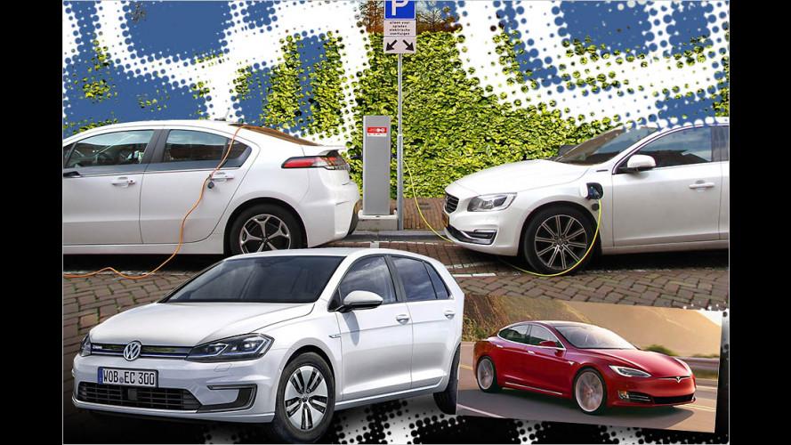 Die Elektroautos mit der größten Reichweite