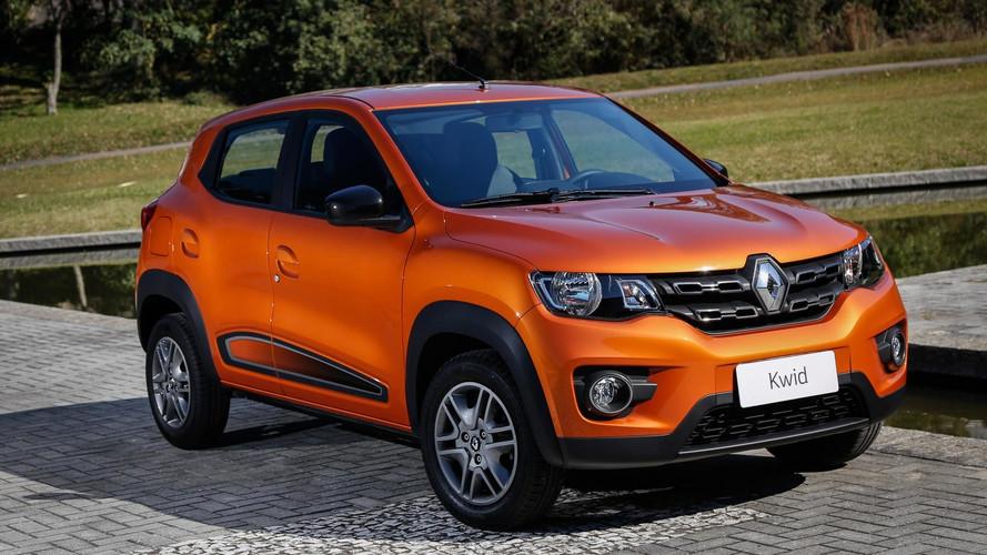 Renault Kwid sofre aumento de preços e parte de R$ 32.490